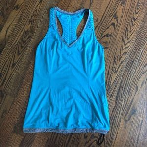 Run energy drawstring top lululemon Sz 6